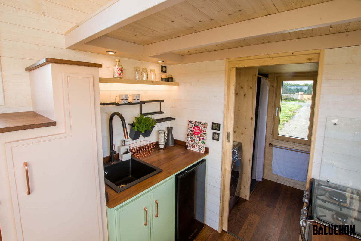 tiny house baluchon 18 1 - A tiny home on wheels: travel meets small living