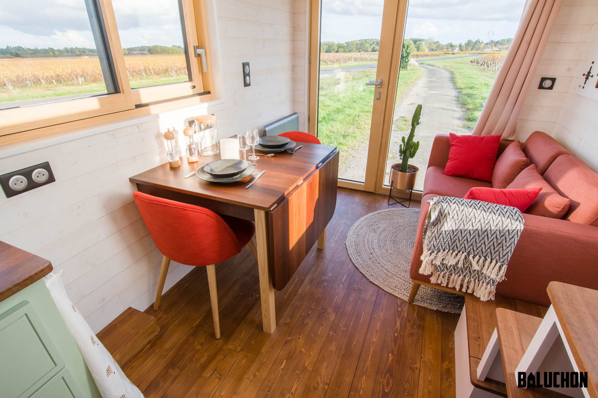 tiny house baluchon 3 1 - A tiny home on wheels: travel meets small living
