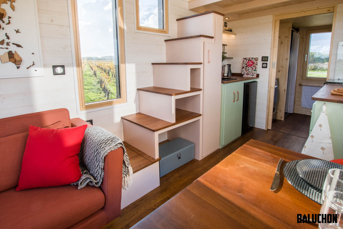 tiny house baluchon 5 1 - A tiny home on wheels: travel meets small living