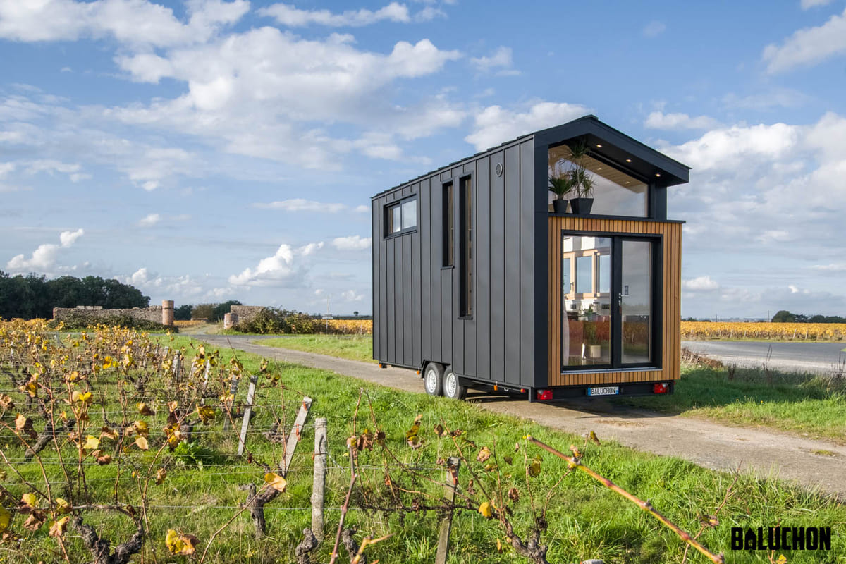 tiny house baluchon 7 1 - A tiny home on wheels: travel meets small living