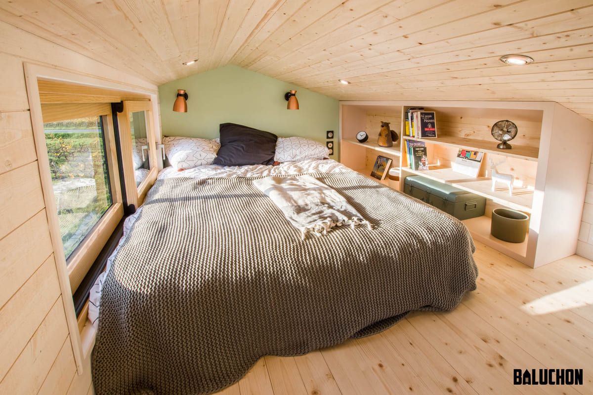 tiny house baluchon 9 1 - A tiny home on wheels: travel meets small living