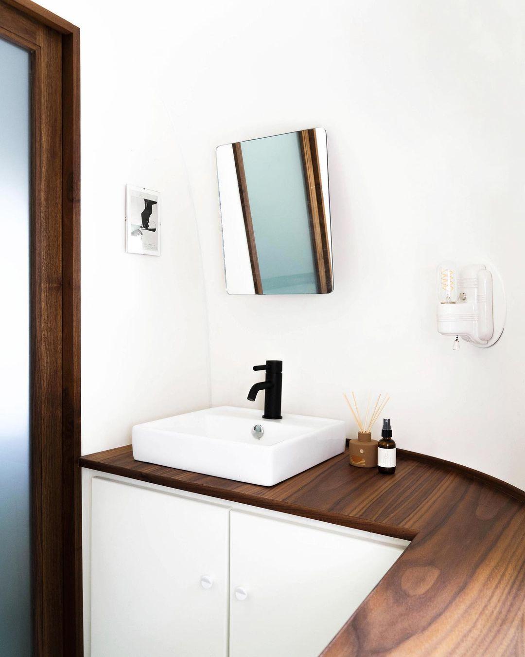 Airstream trailer Haus 8 - Interior designer turned heirloom Airstream into delightful home