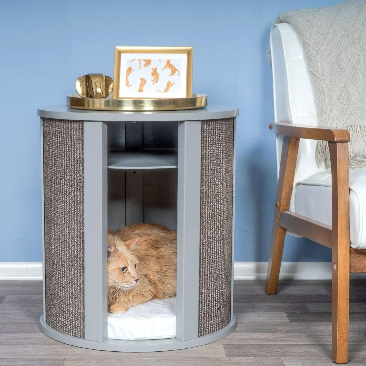 pet furniture 6 - 18 amazing pet furniture ideas that are perfect solutions for small spaces