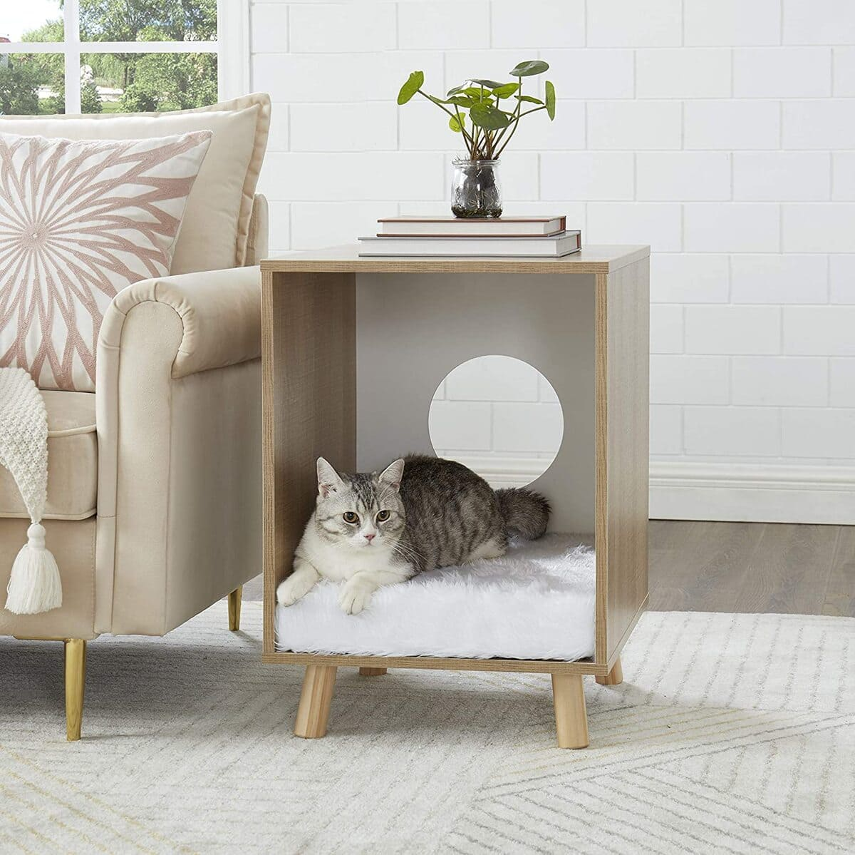 pet furniture 9 - 18 amazing pet furniture ideas that are perfect solutions for small spaces
