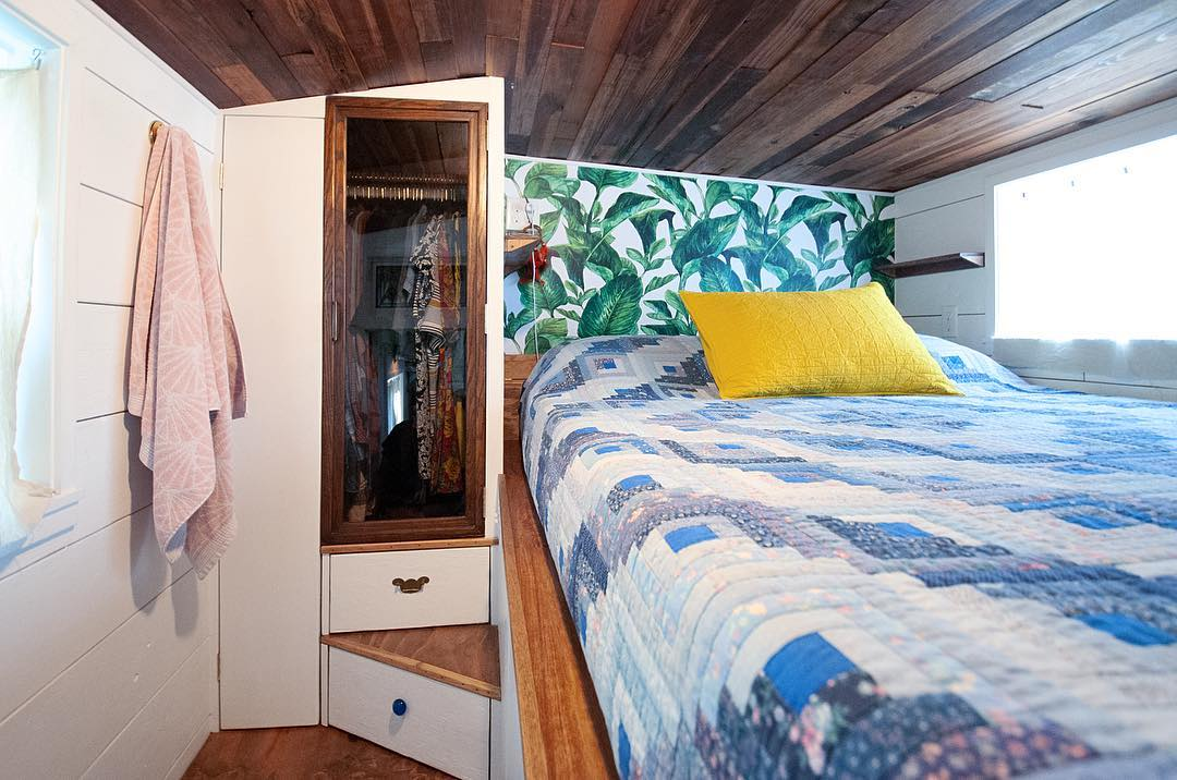 tiny house her tiny home 10 - Single mom built spectacular tiny home for herself and her daughter