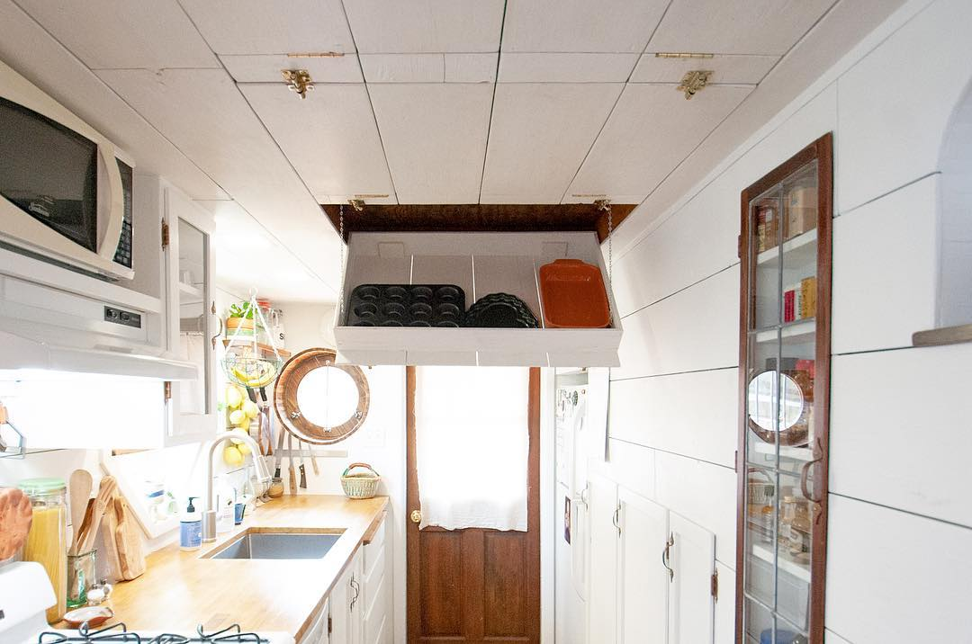 tiny house her tiny home 20 - Single mom built spectacular tiny home for herself and her daughter