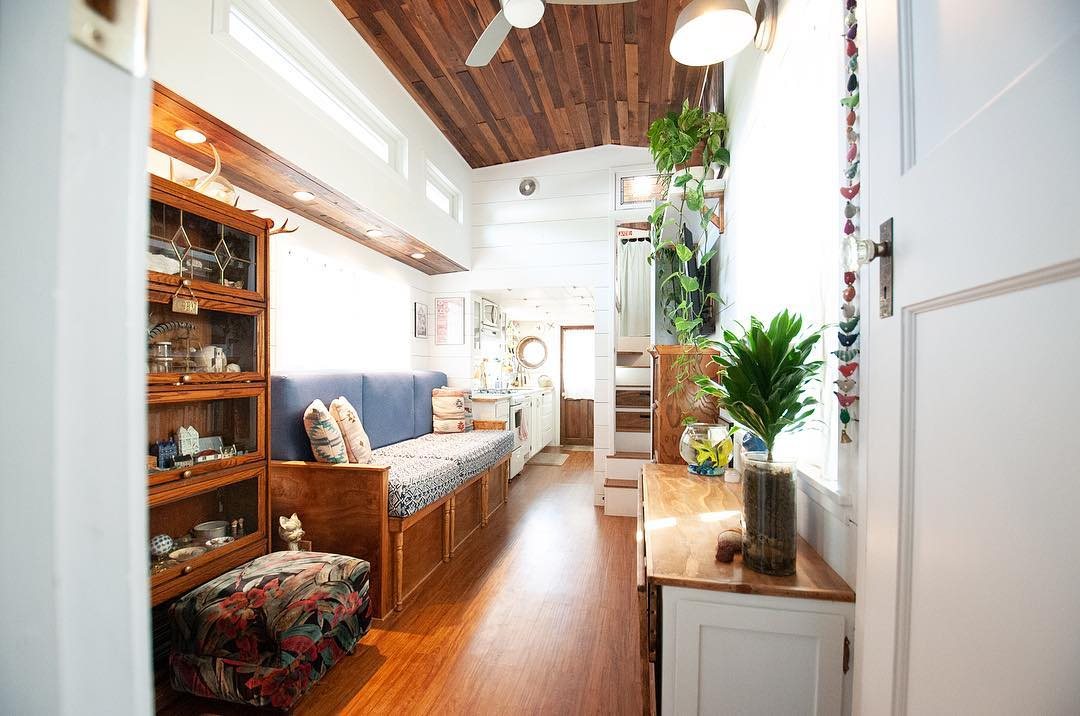 tiny house her tiny home 25 - Single mom built spectacular tiny home for herself and her daughter