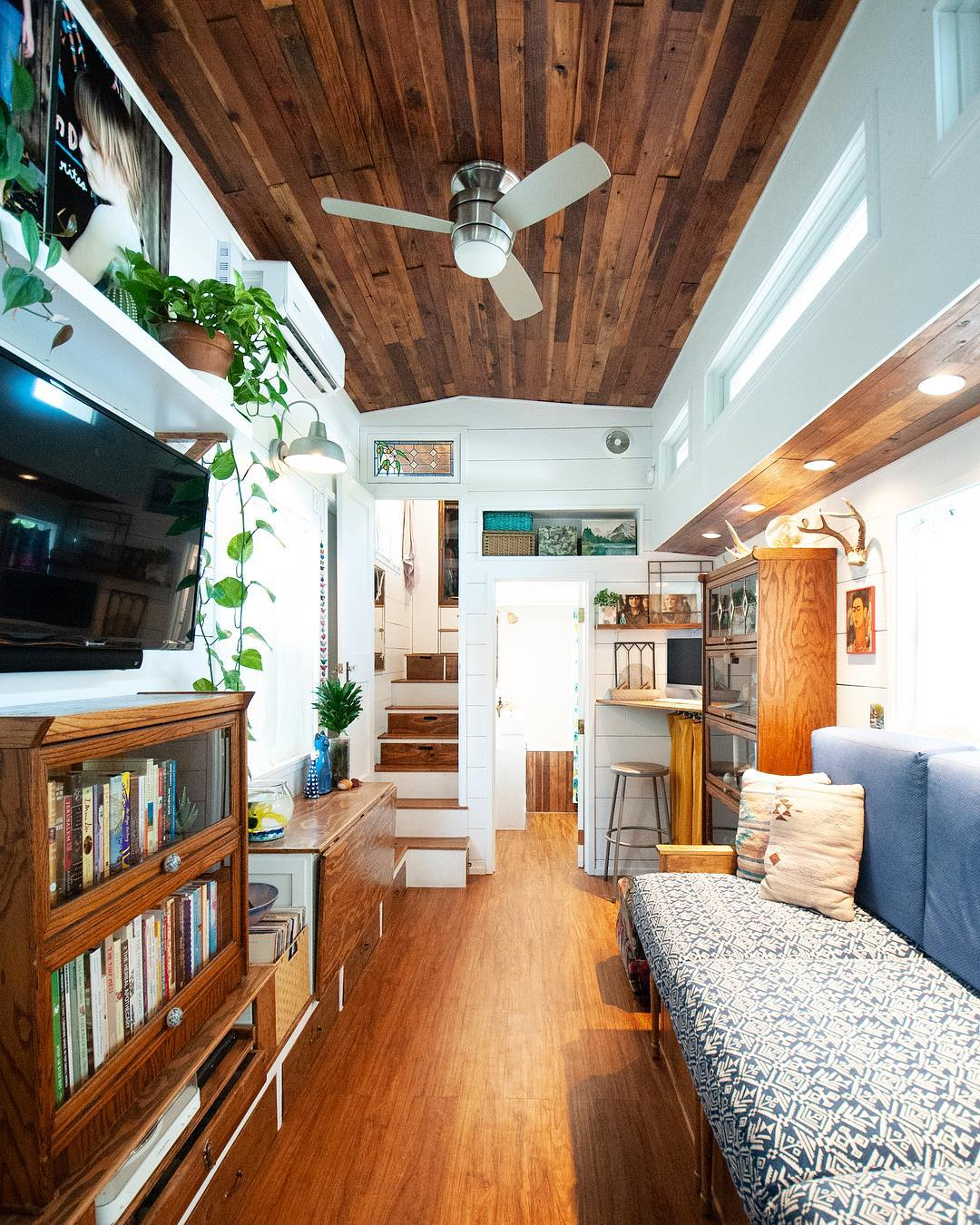tiny house her tiny home 26 - Single mom built spectacular tiny home for herself and her daughter