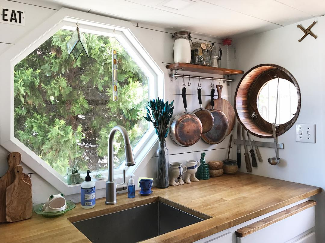 tiny house her tiny home 4 - Single mom built spectacular tiny home for herself and her daughter