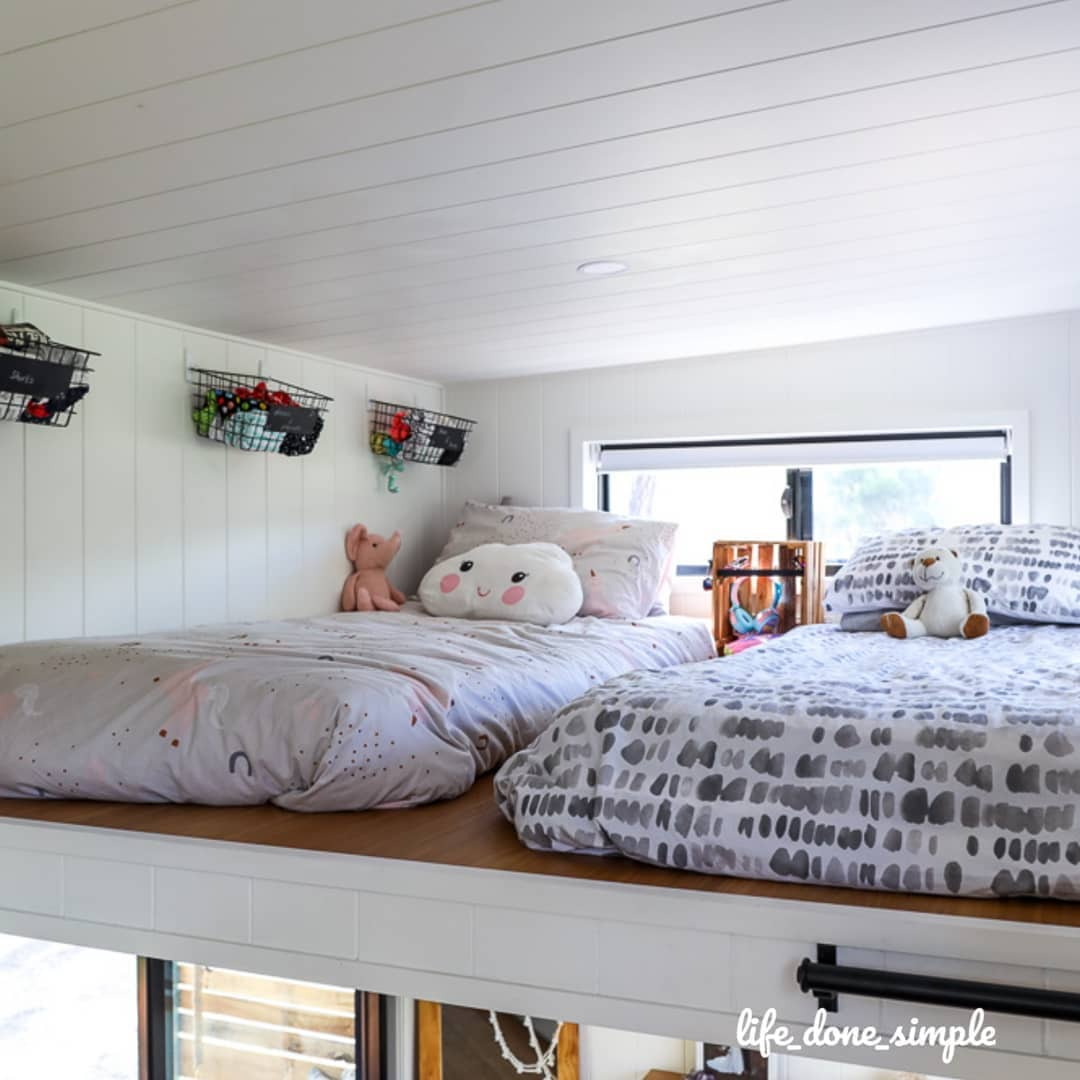 tiny house life done simple 12 - Tiny house led to a simpler life for family of four