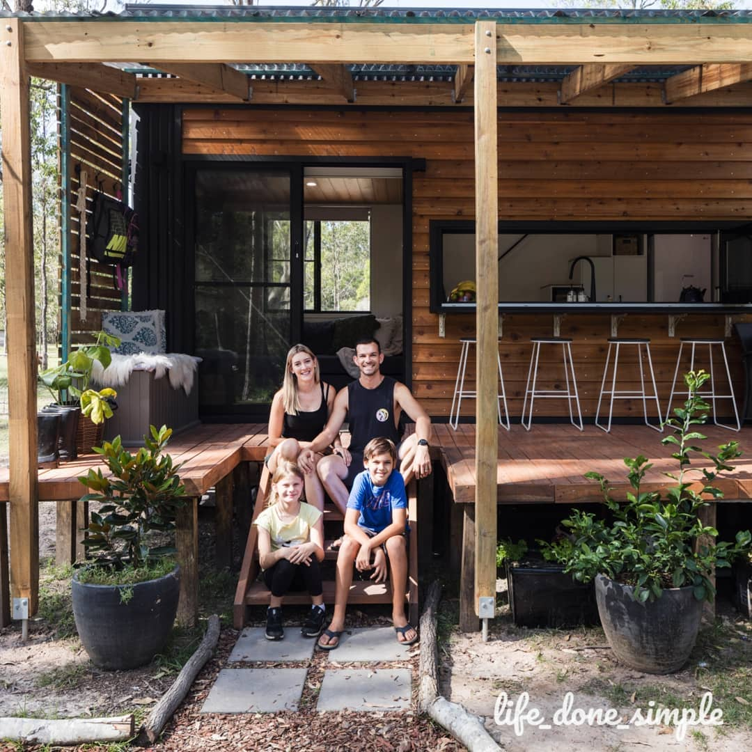 tiny house life done simple 20 - Tiny house led to a simpler life for family of four