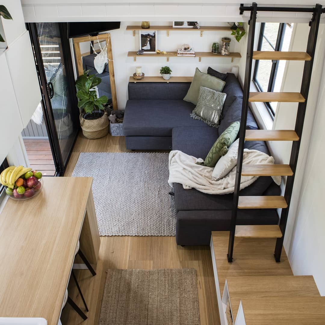 tiny house life done simple 4 - Tiny house led to a simpler life for family of four